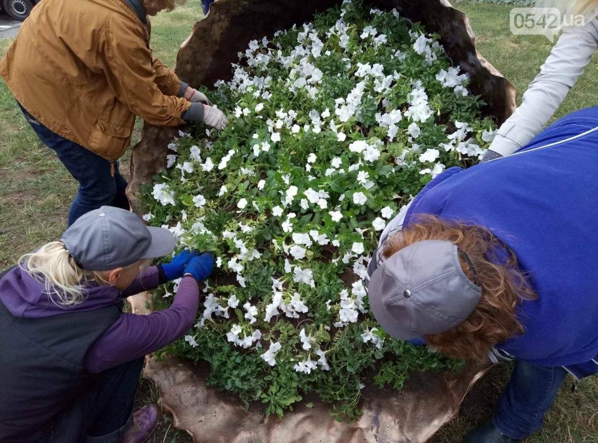 В Сумах появилась оригинальная цветочная композиция «Букет невесты», фото-1