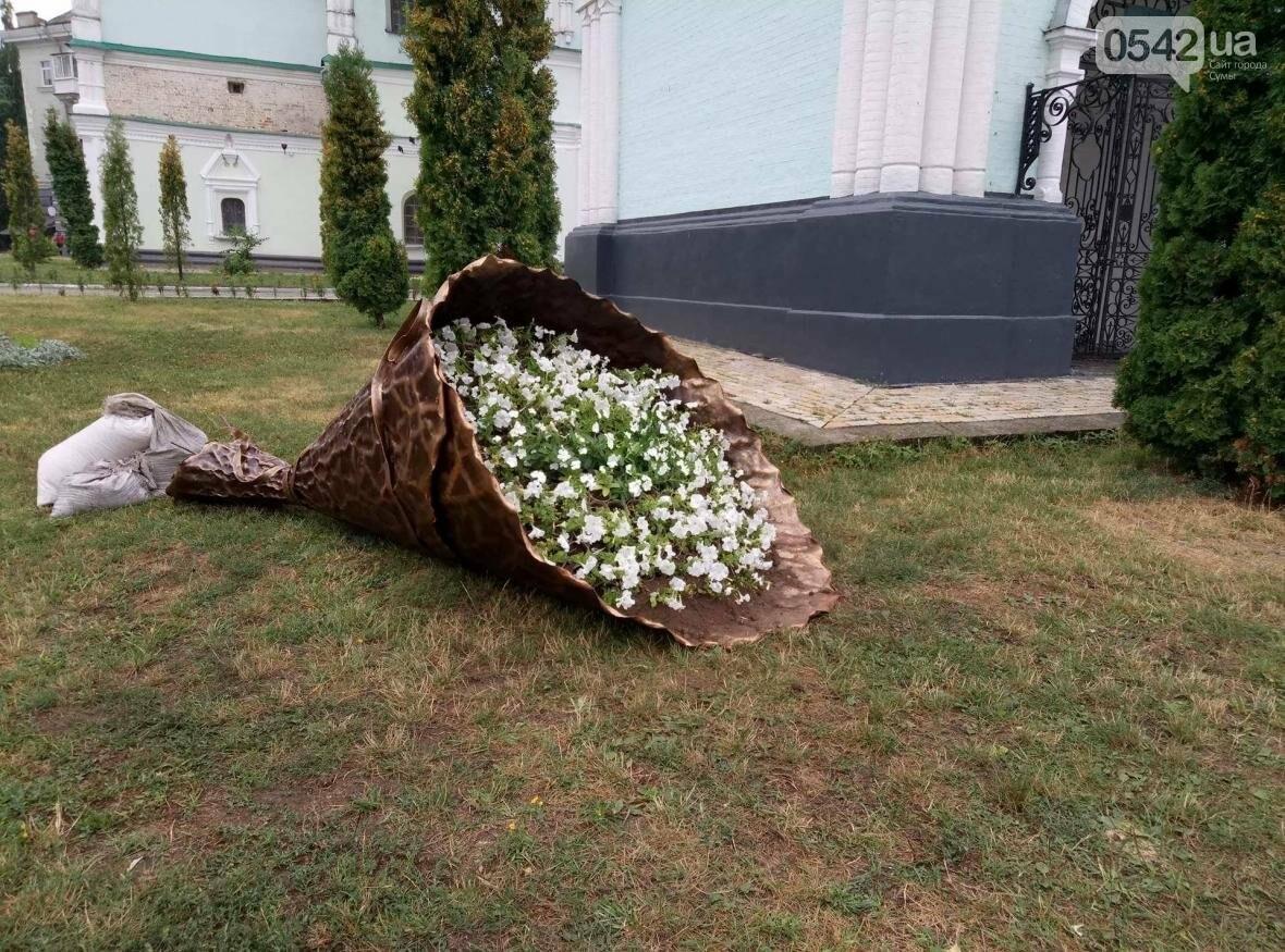 В Сумах появилась оригинальная цветочная композиция «Букет невесты», фото-7