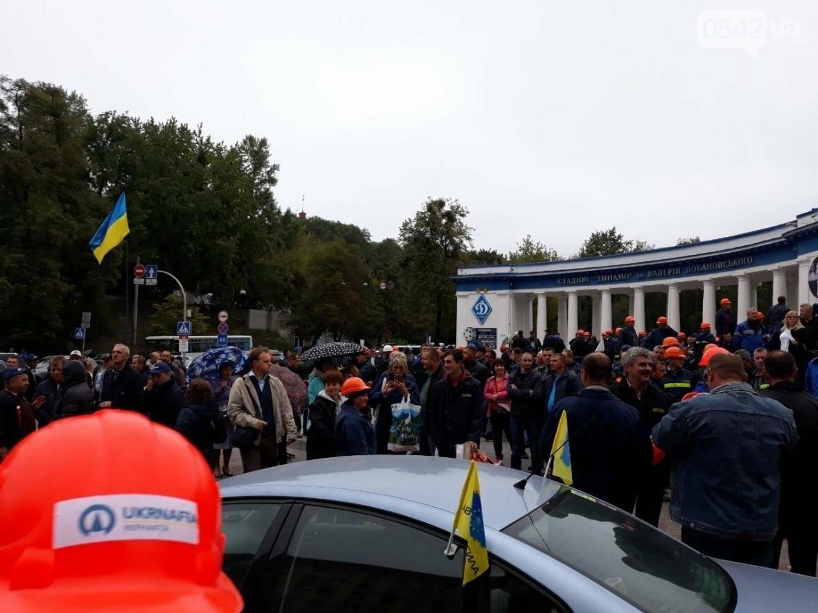 Нефтяники Сумщины съехались в Киев на пикет против закрытия месторождений нефти и газа, фото-2