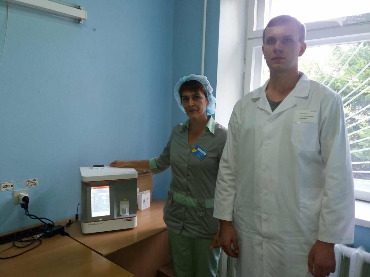 """""""Допомагати просто!"""": гематологічний аналізатор та річний комплект реактивів на рік - від ПриватБанку, фото-1"""