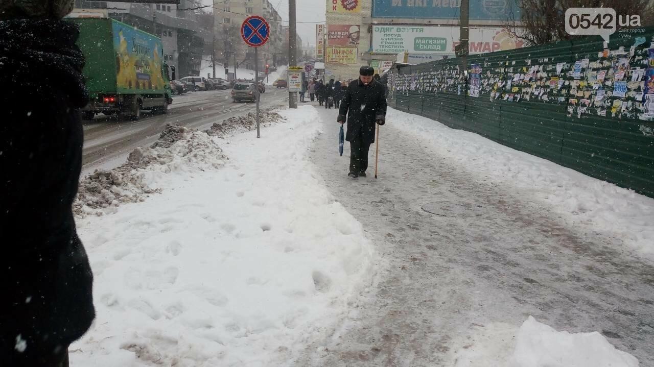 В Сумах за неочищенные тротуары оштрафовали 14 предпринимателей, фото-2