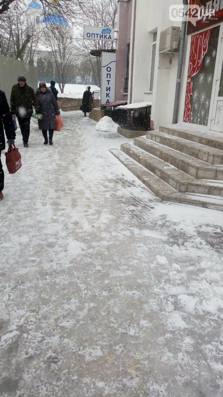 В Сумах за неочищенные тротуары оштрафовали 14 предпринимателей, фото-3