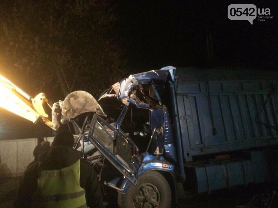 На Сумщине столкнулись два грузовика. Есть пострадавшие , фото-1