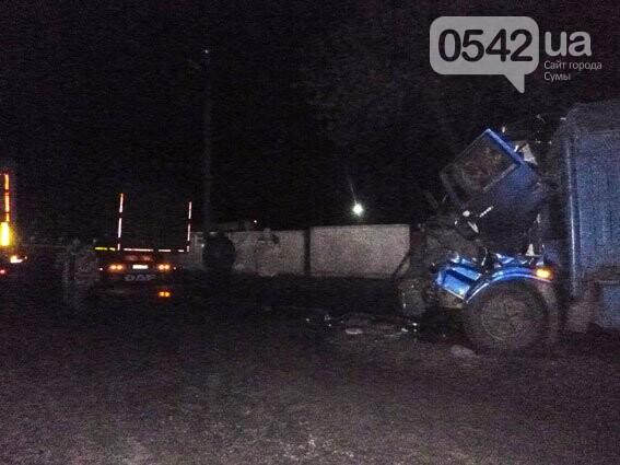 На Сумщине столкнулись два грузовика. Есть пострадавшие , фото-3