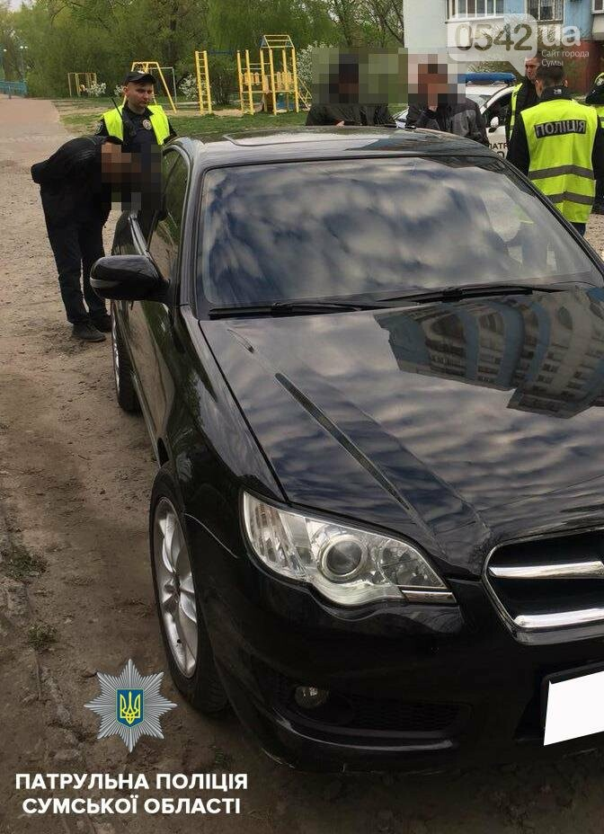 Подозреваемого в нападении на полицейского в Сумах взяли под стражу, фото-1
