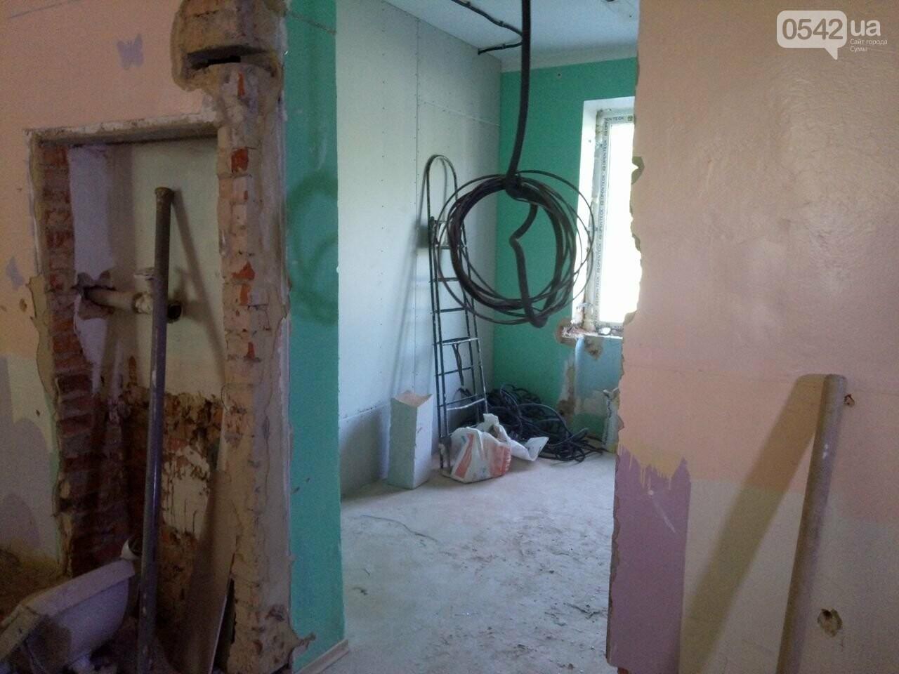 В Сумах продолжают модернизировать детскую больницу, фото-10