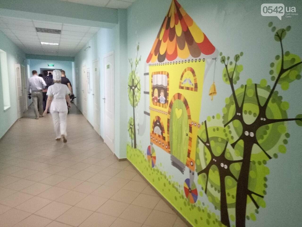 В Сумах продолжают модернизировать детскую больницу, фото-1
