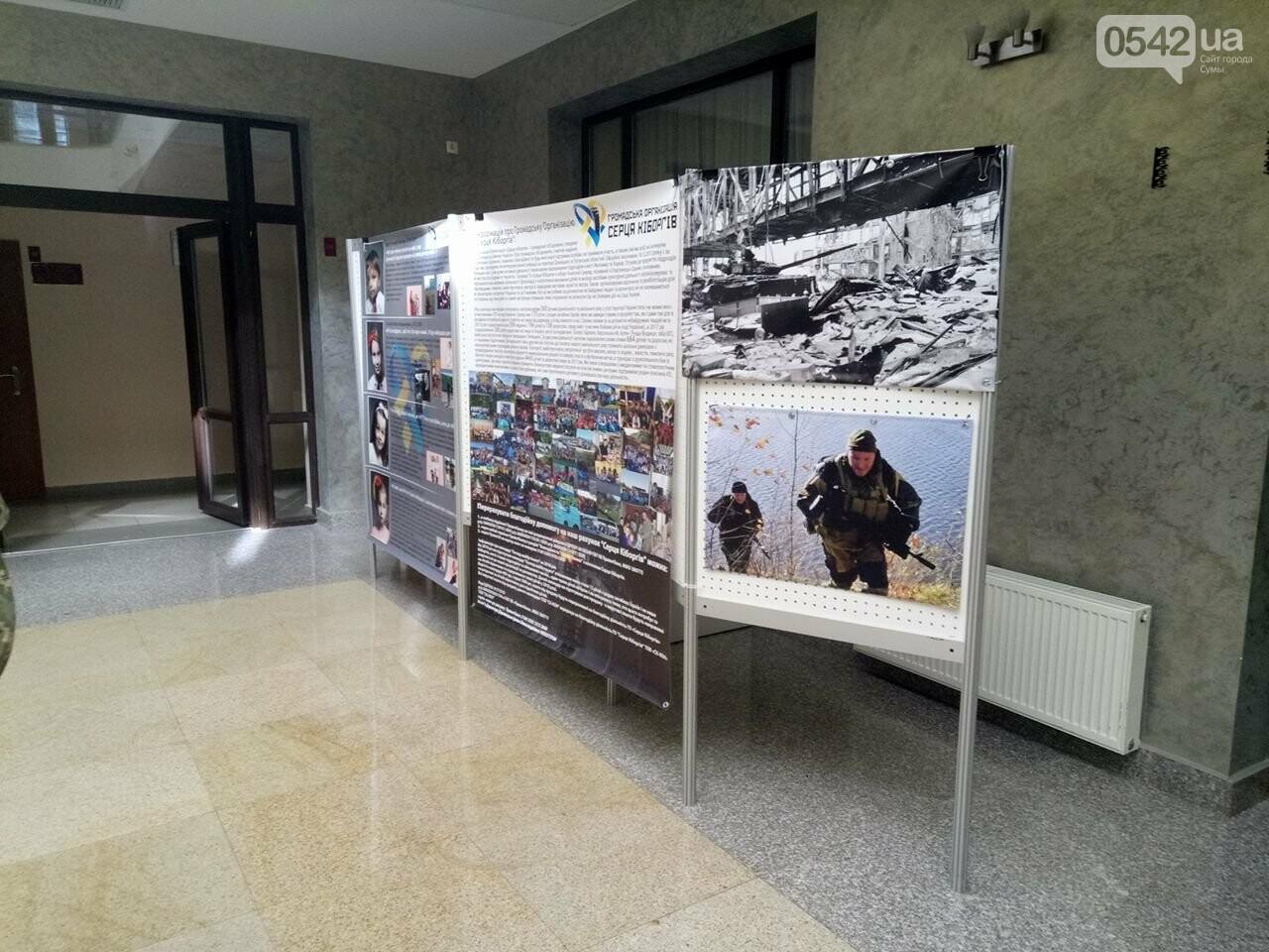 В Сумах открылась фотовыставка, посвященная детям погибших героев, фото-6