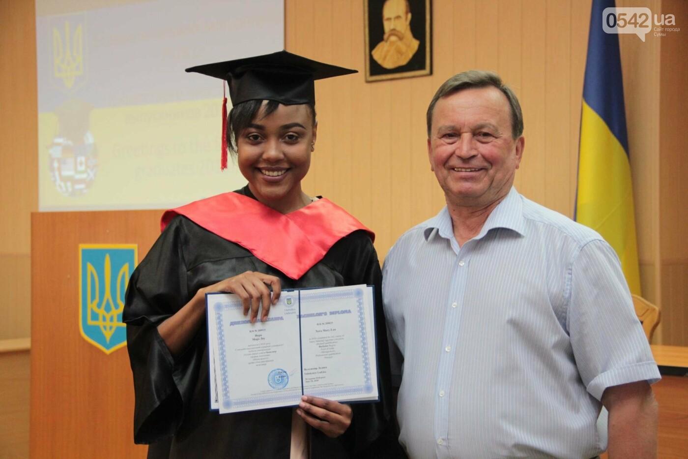 В Сумском НАУ состоялся торжественный выпуск студентов-иностранцев, фото-2