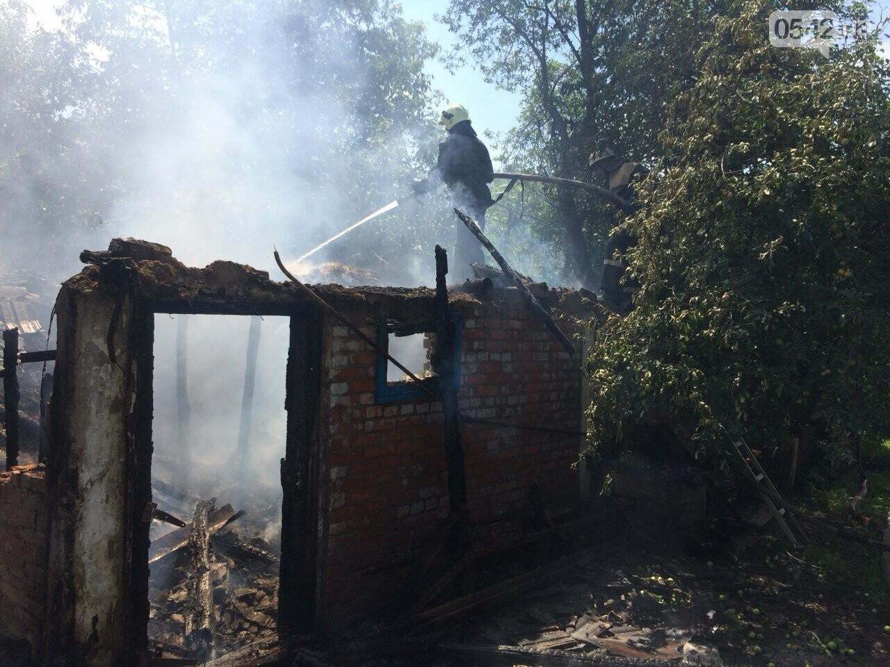 На Сумщине детские шалости с огнем привели к пожару, фото-4