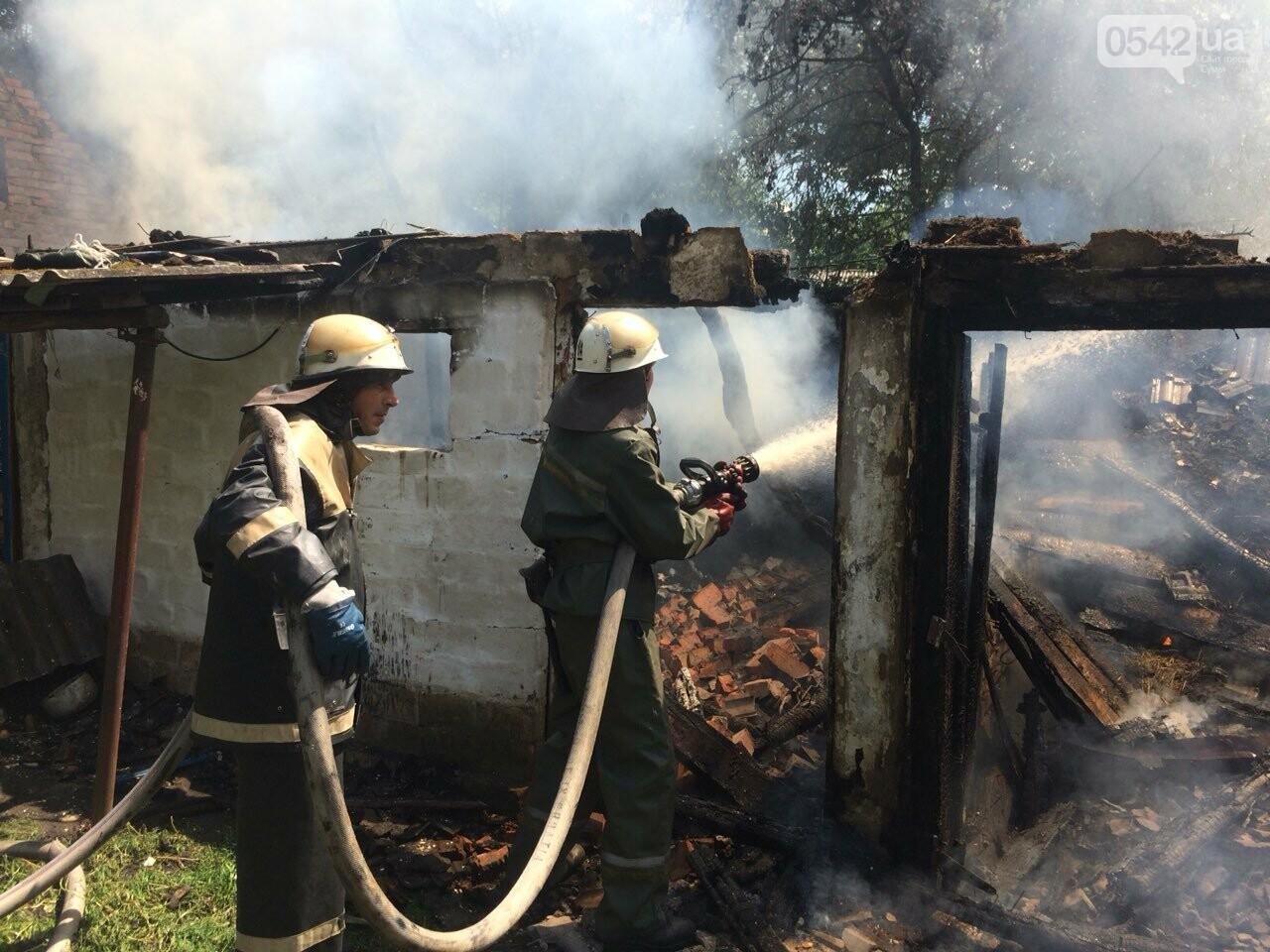 На Сумщине детские шалости с огнем привели к пожару, фото-1