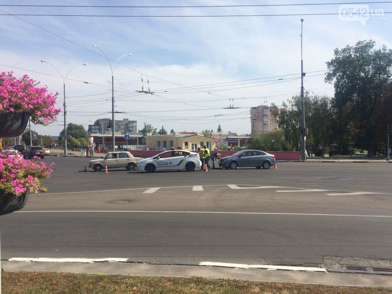 В центре Сум произошло ДТП, фото-3