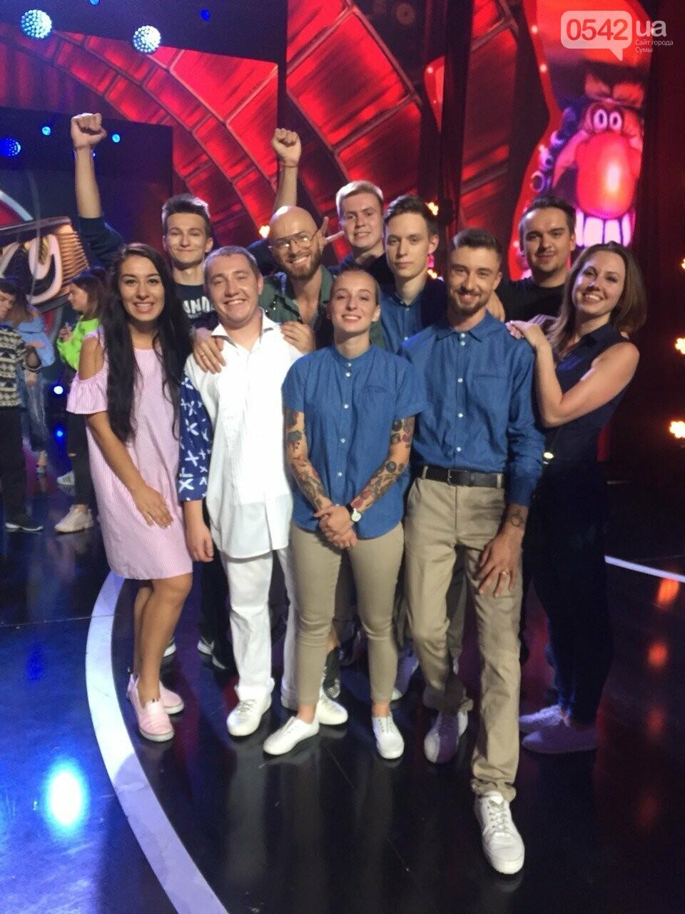 Команда из СумГУ в полуфинале «Лиги смеха» на «1+1», фото-1