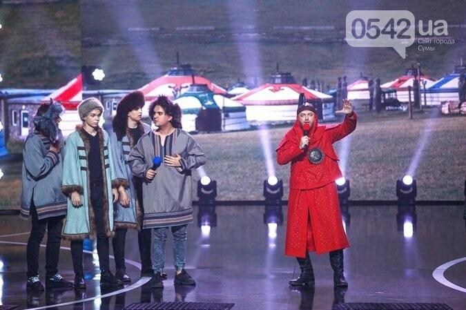 Команда СумГУ – финалист  «Лиги смеха» на «1+1», фото-1