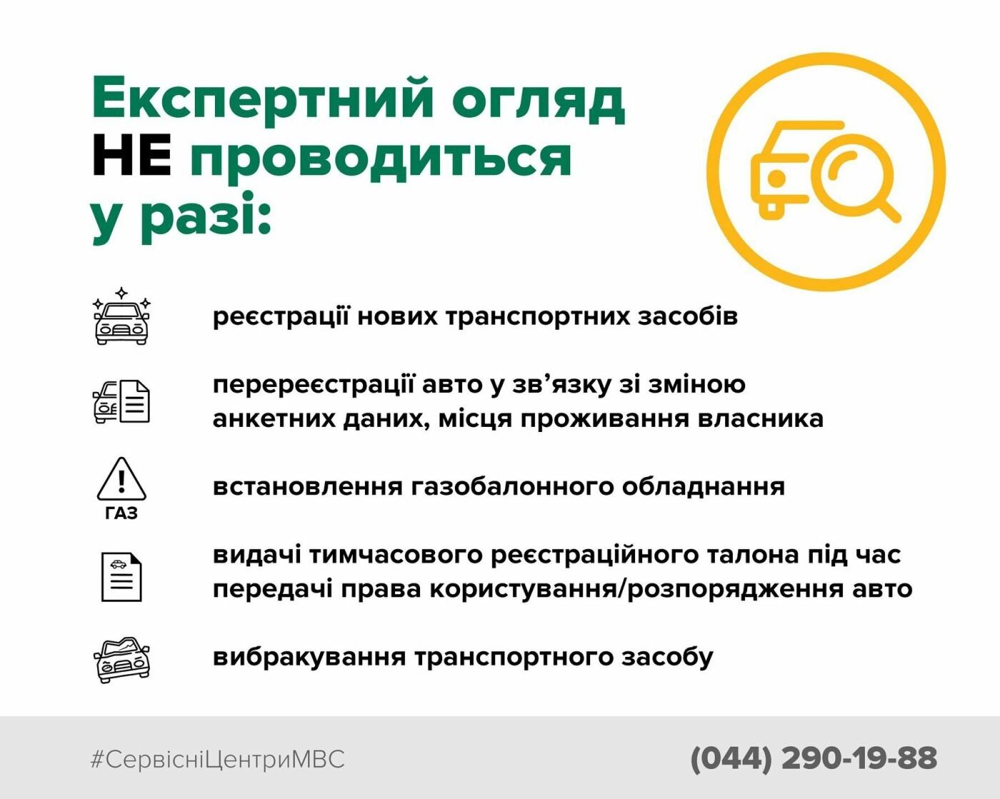 Информация для водителей Сум: в проведении регистрационных операций произошли изменения , фото-1