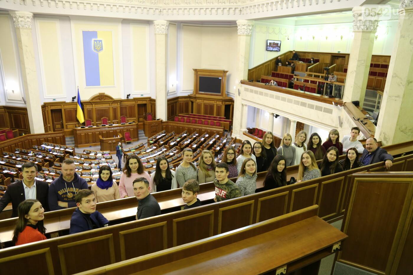 Лучшие студенты СумГУ на экскурсии в ВРУ, фото-3