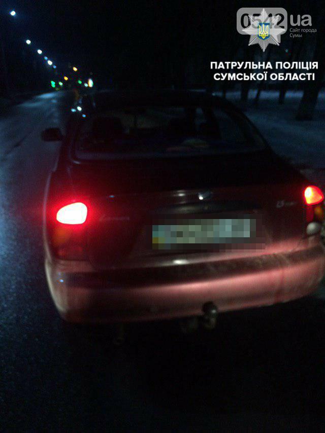 В Сумах патрульные полиции остановили нетрезвого водителя, фото-1