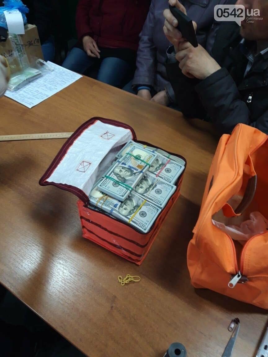 На Сумщине в кабинете у депутата нашли 380 000 долларов, фото-1