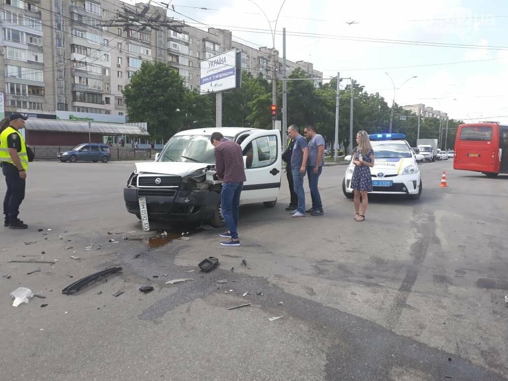 В Сумах на улице Харьковской произошло ДТП , фото-1