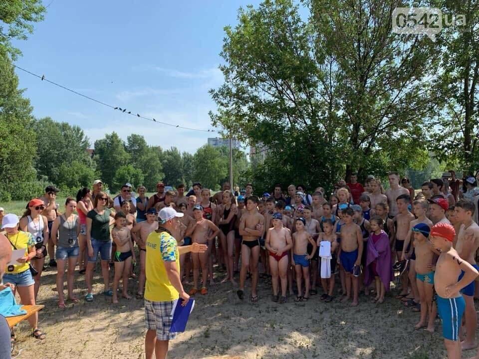 На озері Чеха в Сумах відбуваються змагання з дуатлону, фото-4