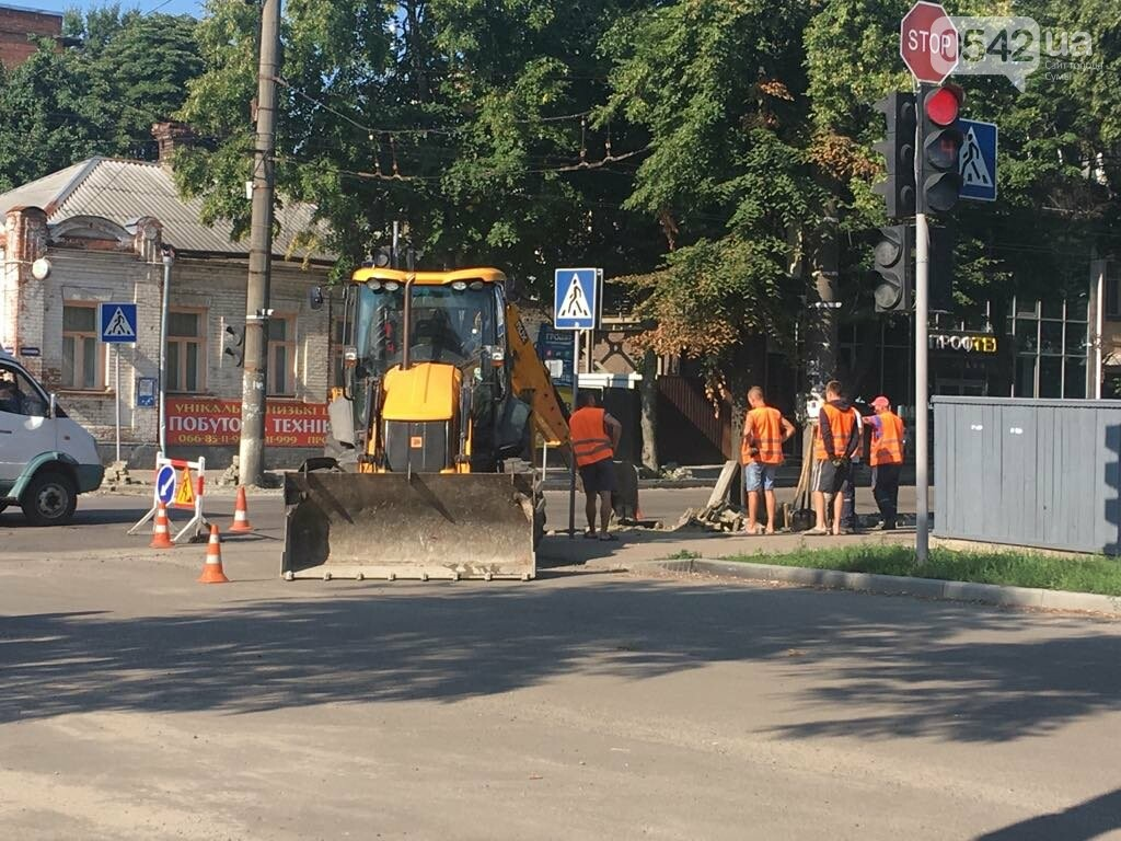 У Сумах продовжують ремонтувати дороги, фото-1