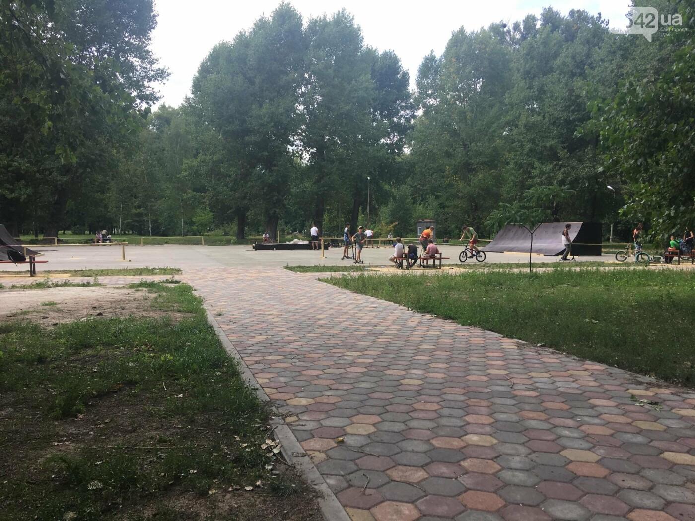У міському парку у Сумах невдовзі завершать будівництво скейт-парку , фото-1
