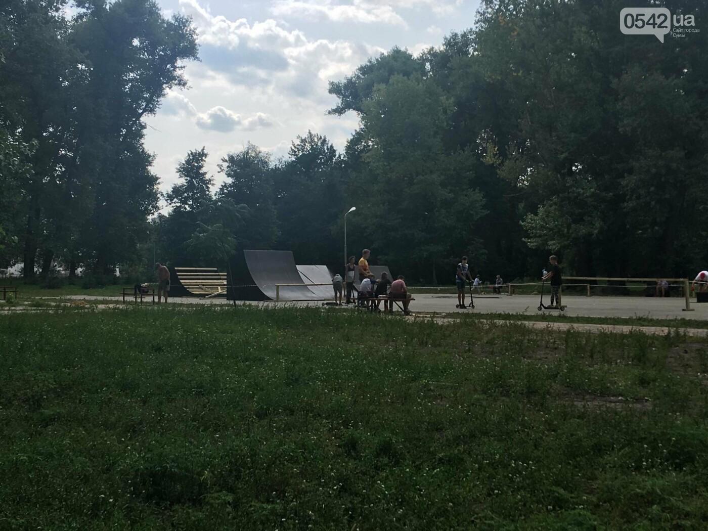 У міському парку у Сумах невдовзі завершать будівництво скейт-парку , фото-2