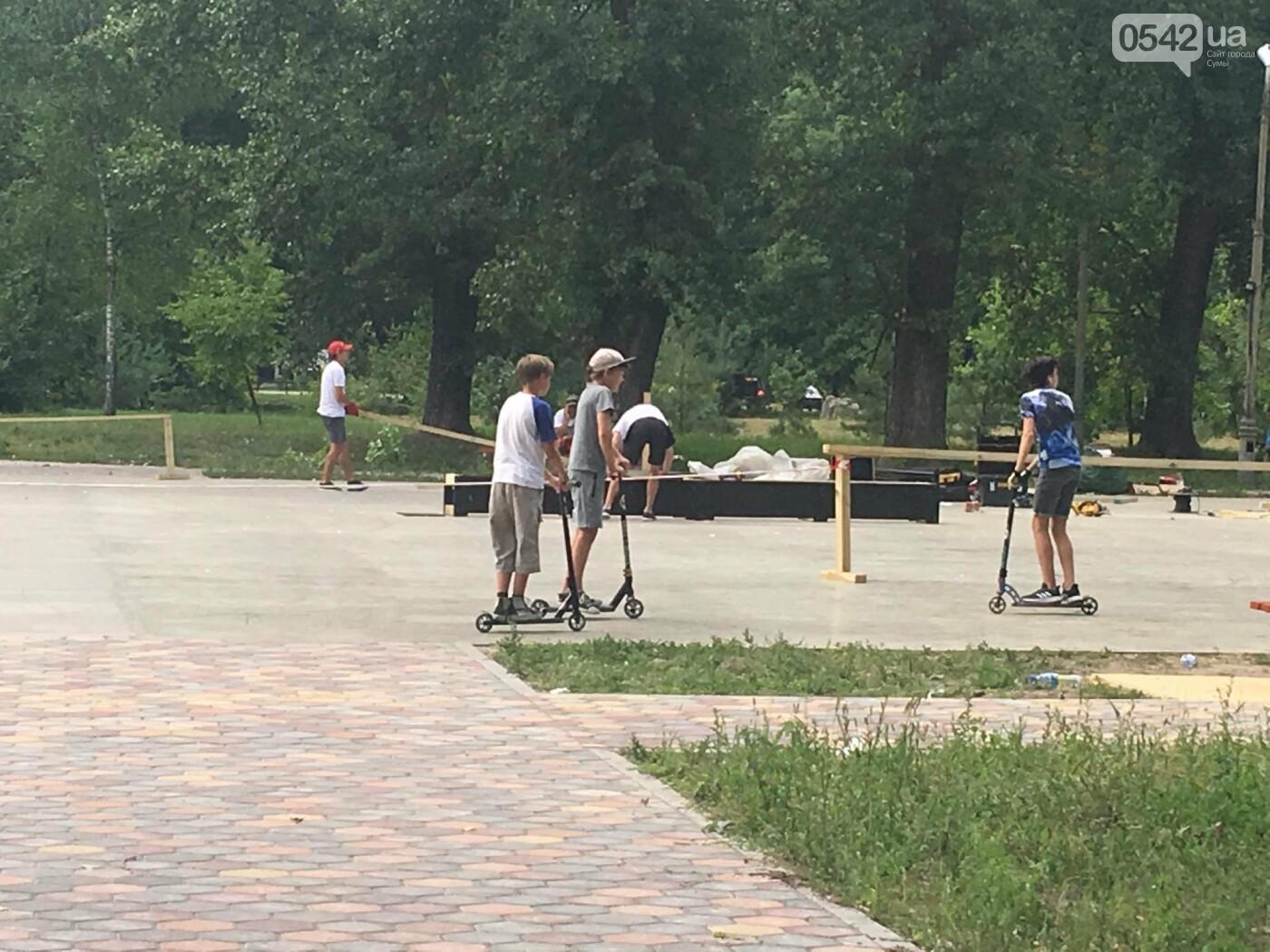 У міському парку у Сумах невдовзі завершать будівництво скейт-парку , фото-5