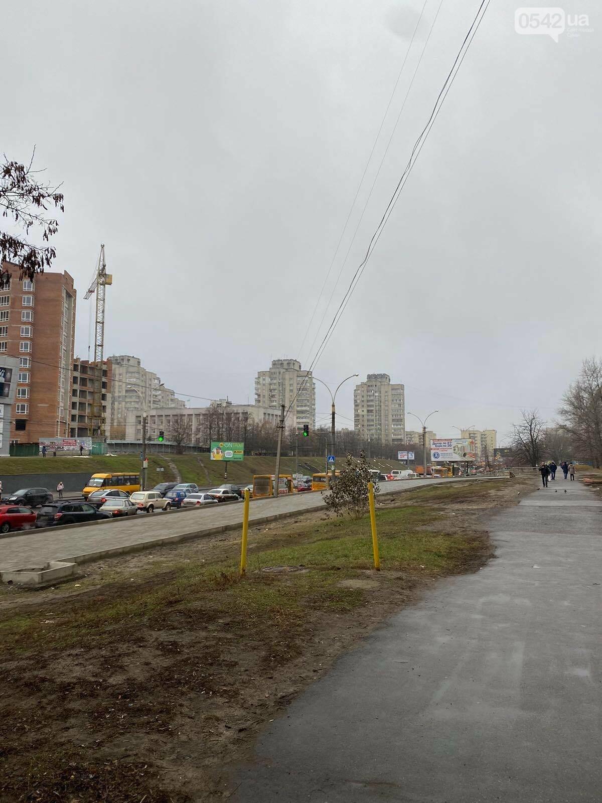 У Сумах через ДТП тимчасово «стояв» проспект Лушпи, фото-3