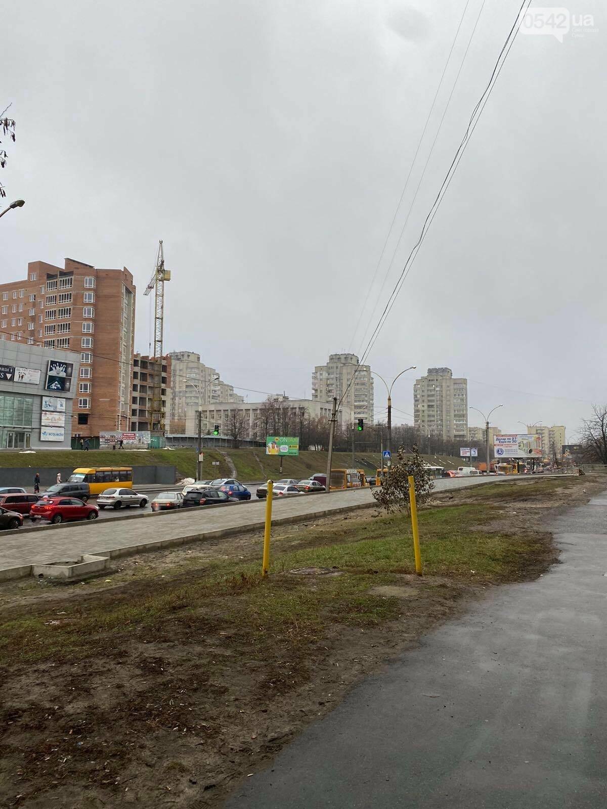 У Сумах через ДТП тимчасово «стояв» проспект Лушпи, фото-4