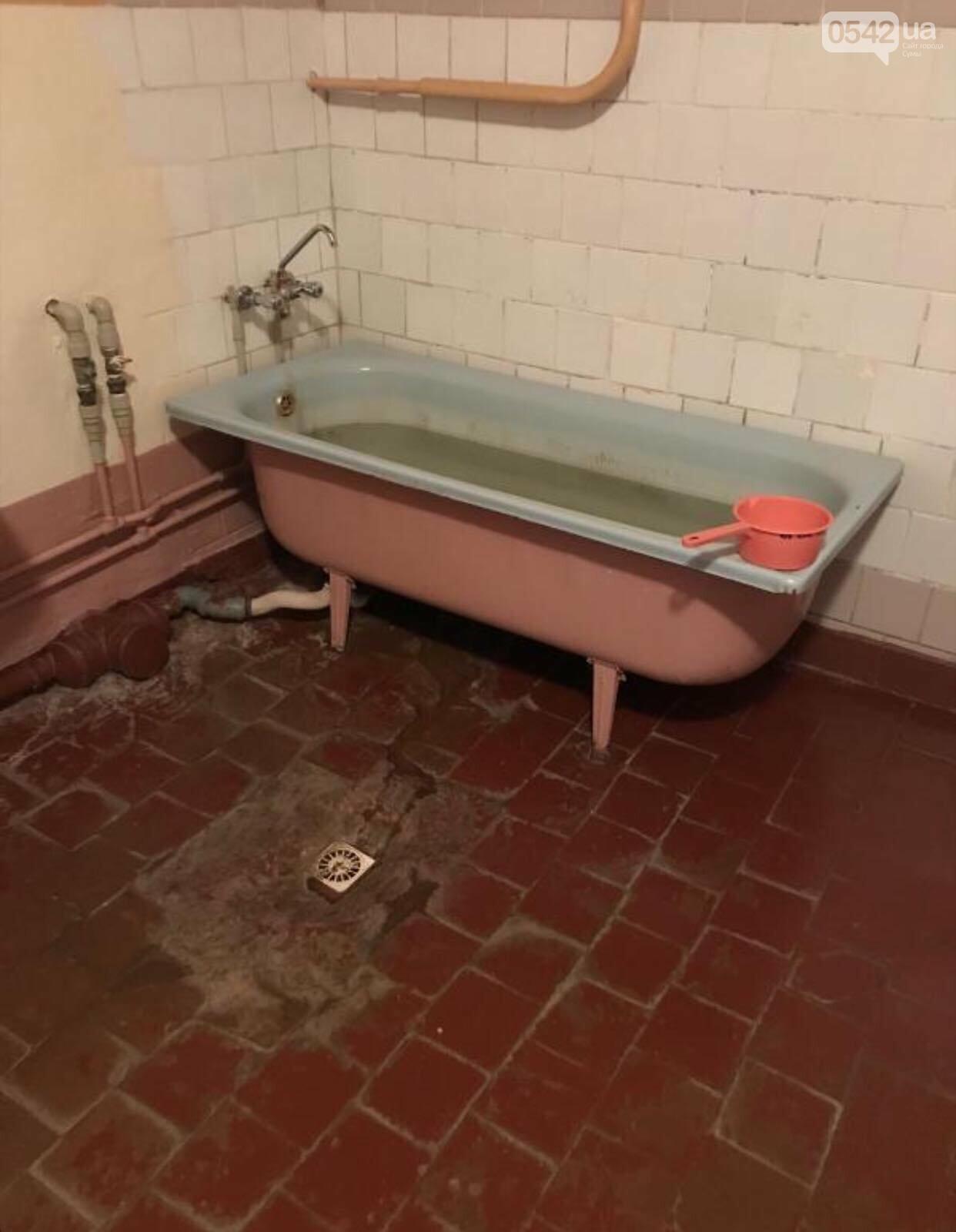 Кімната для ванних процедур в дитячій обласній лікарні в жахливому стані , фото-1