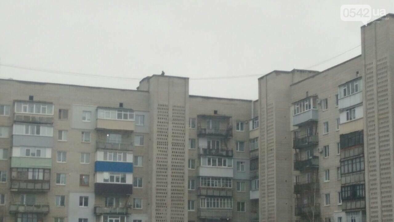 У Сумах все частіше підлітки бавляться на дахах багатоповерхівок, фото-2
