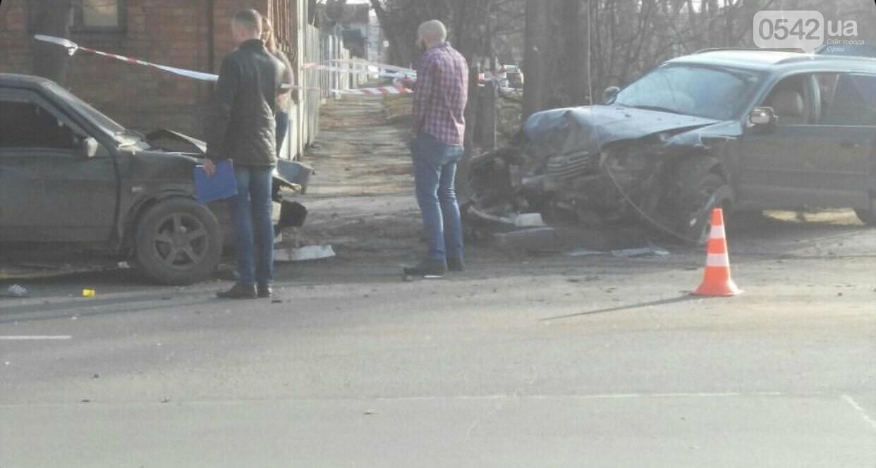 У Сумах зіткнулися дві автівки, фото-3