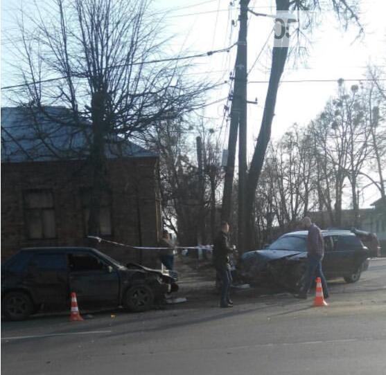 У Сумах зіткнулися дві автівки, фото-1