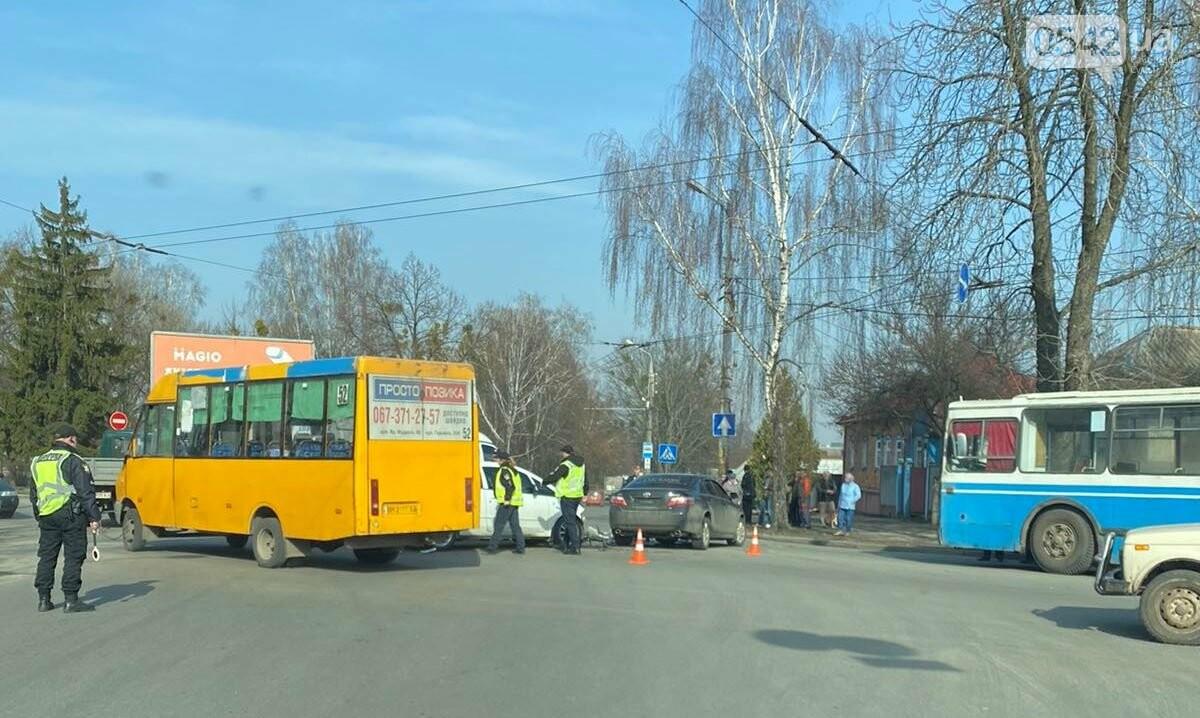 У Сумах біля автовокзалу сталася ДТП. ОНОВЛЕНО, фото-2