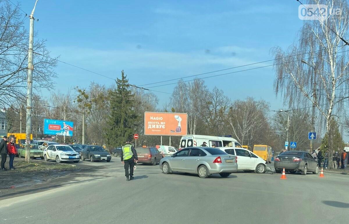 У Сумах біля автовокзалу сталася ДТП. ОНОВЛЕНО, фото-3