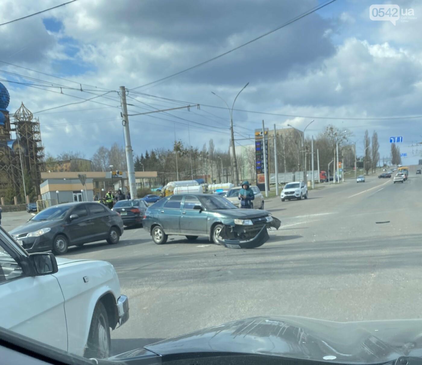 У Сумах ДТП на Курському проспекті, фото-2