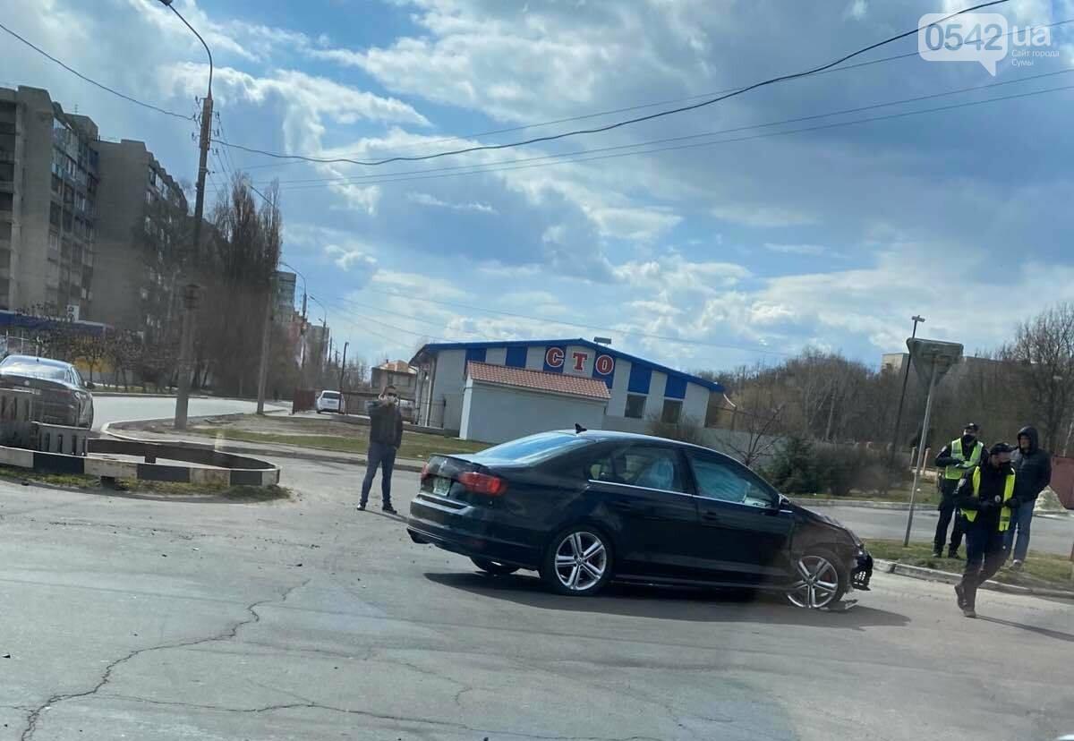 У Сумах ДТП на Курському проспекті, фото-1