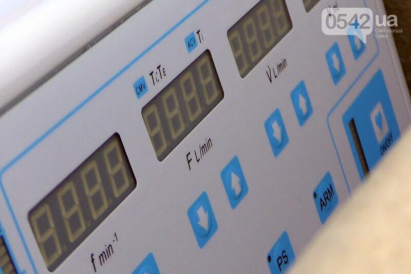 Сумська міська дитяча клінічна лікарня Святої Зінаїди отримала сучасний апарат штучної вентиляції легень, фото-3