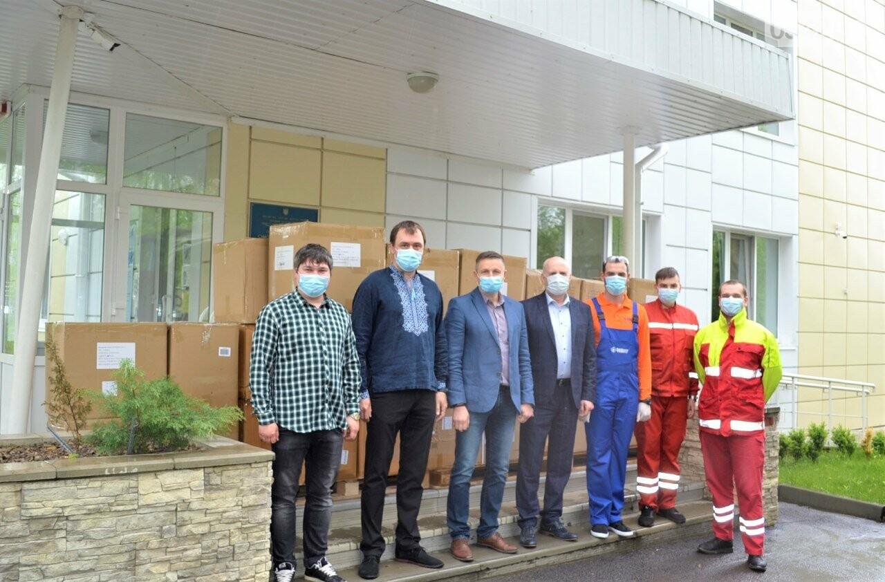 Медичні працівники Сум та області отримали партію благодійної допомоги від мережі «Епіцентр» для запобігання поширенню COVID-19, фото-3