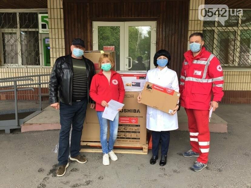 Дитяча лікарня Святої Зінаїди у Сумах отримала допомогу від Червоного Хреста, фото-1