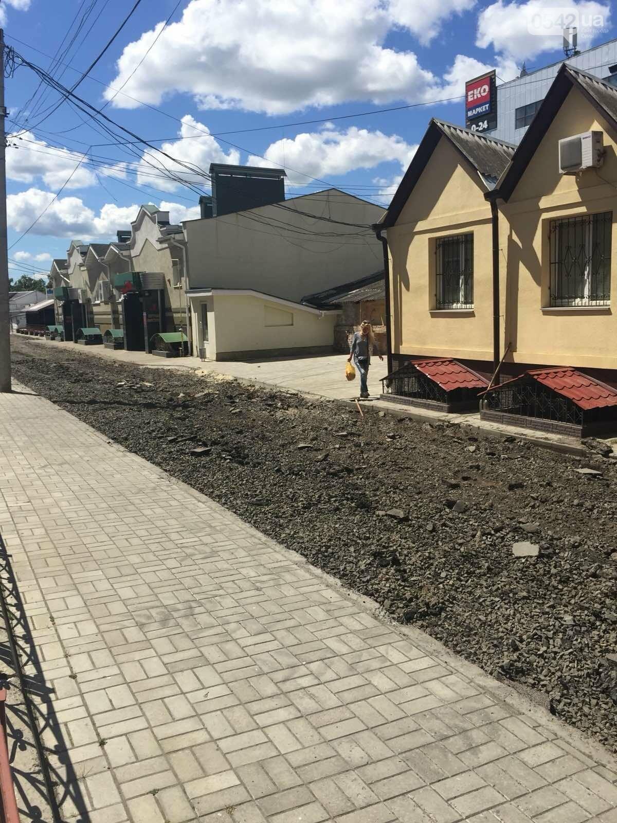 У Сумах на Козацькому валу тривають ремонтні роботи. ФОТОФАКТ, фото-2