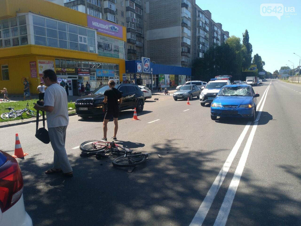 У Сумах збили велосипедиста, фото-2