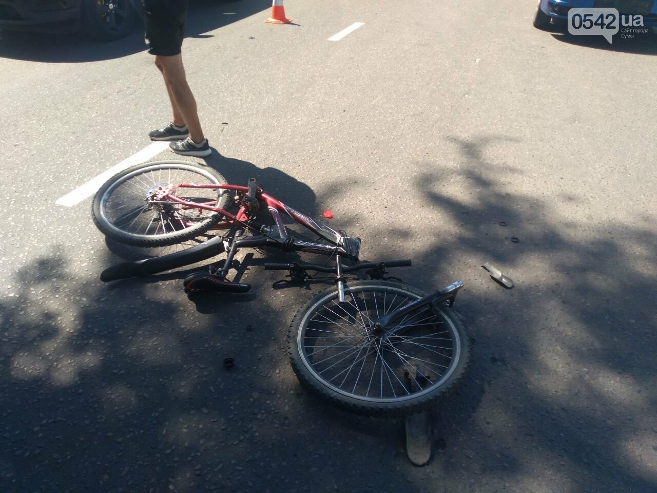 У Сумах збили велосипедиста, фото-3