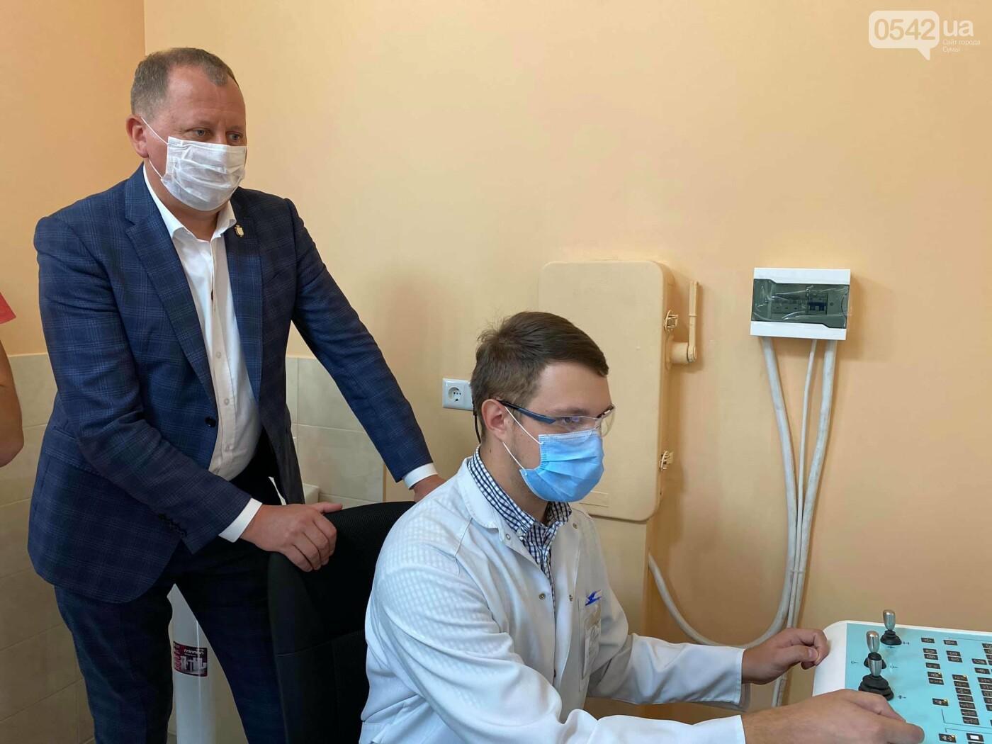 Олександр ЛИСЕНКО під час виїзної наради до 5 міської лікарні ознайомився з обладнанням, яке тепер буде використовуватися для діагностики з..., фото-3