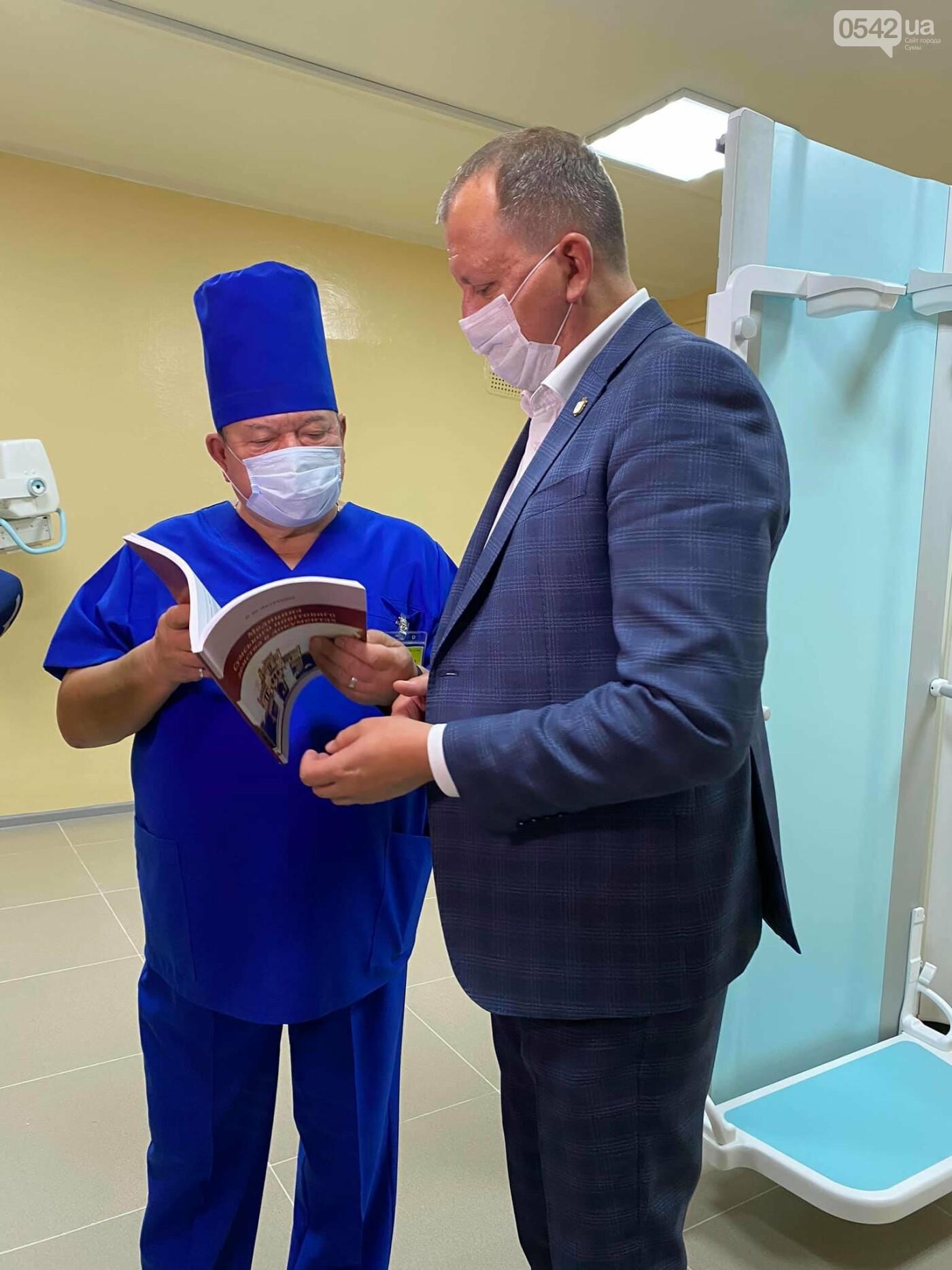 Олександр ЛИСЕНКО під час виїзної наради до 5 міської лікарні ознайомився з обладнанням, яке тепер буде використовуватися для діагностики з..., фото-4