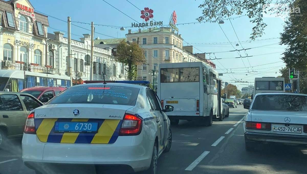 У Сумах ДТП за участю маршрутки, фото-3