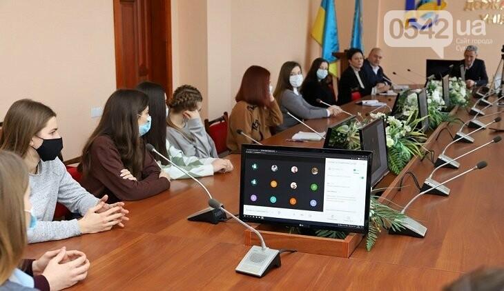 Ректор СумДУ Василь Карпуша зустрівся з представниками студентського самоврядування, фото-1