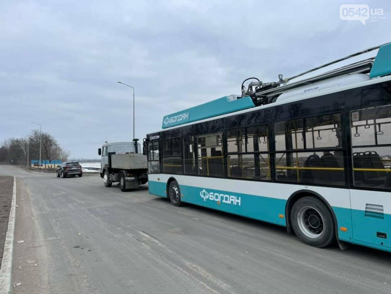 З'явилися фото нового тролейбусу, який уже прибув до Сум (фото), фото-1