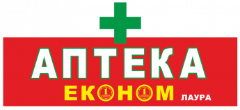 Логотип - Аптека «ЭКОНОМ» Лаура